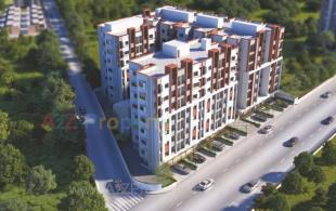 Elevation of real estate project Samruddhi Residency 3 located at Danteshwar, Vadodara, Gujarat
