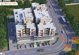 Elevation of real estate project Sarva Square located at Vadodara, Vadodara, Gujarat