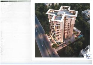 Elevation of real estate project Serene Signatures located at Bhayli, Vadodara, Gujarat