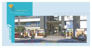 Elevation of real estate project Seven 9 located at Chhani, Vadodara, Gujarat