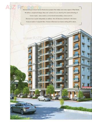 Elevation of real estate project Sharnam Icon located at Bapod, Vadodara, Gujarat