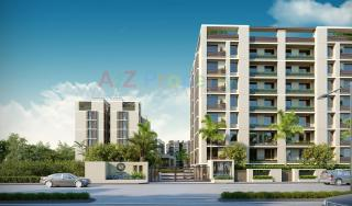 Elevation of real estate project Shilpan Bliss located at Bhayli, Vadodara, Gujarat