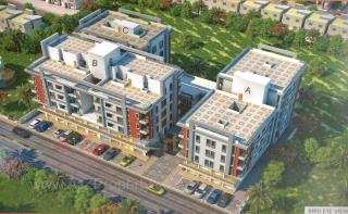 Elevation of real estate project Shiv Krupa Residency located at Harni, Vadodara, Gujarat