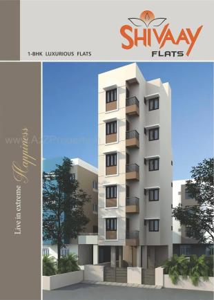 Elevation of real estate project Shivaay Flats located at Babajipura, Vadodara, Gujarat