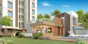 Elevation of real estate project Shivay Sky located at Bapod, Vadodara, Gujarat