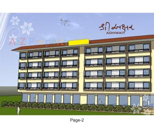 Elevation of real estate project Shree Akshar Adhwait located at Pavlepur, Vadodara, Gujarat