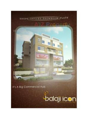 Elevation of real estate project Shree Balaji Icon located at Vadodara, Vadodara, Gujarat