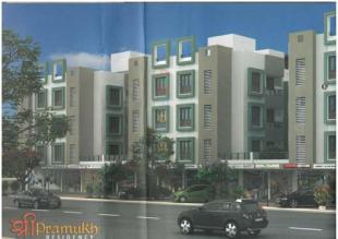 Elevation of real estate project Shree Pramukh Residency located at Padra, Vadodara, Gujarat