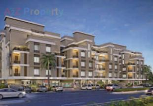 Elevation of real estate project Shree Radheshyam Elegance located at Vasna, Vadodara, Gujarat