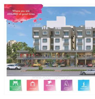 Elevation of real estate project Shree Ram Residency located at Tarsali, Vadodara, Gujarat