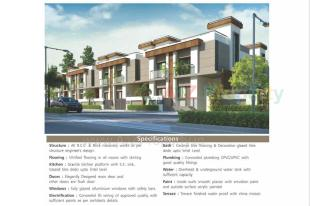 Elevation of real estate project Shree Rang Villa located at Sayajipura, Vadodara, Gujarat