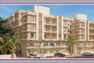 Elevation of real estate project Shree Siddheshwer Heights located at Sayajipura, Vadodara, Gujarat