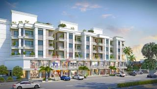 Elevation of real estate project Shree Siddhnath Platinum located at Bapod, Vadodara, Gujarat