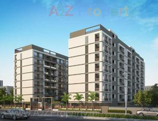 Elevation of real estate project Shree Two located at Bhayli, Vadodara, Gujarat