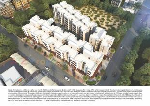 Elevation of real estate project Shreeji Aashray located at Vadodara, Vadodara, Gujarat