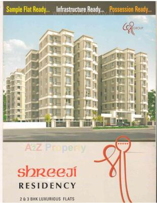 Elevation of real estate project Shreeji Residency located at Atladara, Vadodara, Gujarat