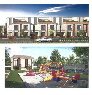 Elevation of real estate project Shreeji Serenity located at Sevasi, Vadodara, Gujarat