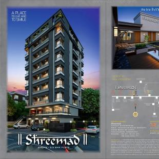 Elevation of real estate project Shreemad located at Vadodara, Vadodara, Gujarat