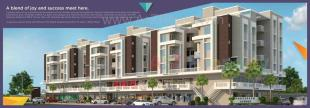 Elevation of real estate project Shreenath Avenue located at Bhayli, Vadodara, Gujarat