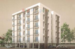Elevation of real estate project Shyamal Dream located at Kapurai, Vadodara, Gujarat