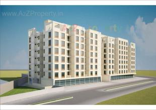 Elevation of real estate project Shyamal Park located at Tandalaja, Vadodara, Gujarat