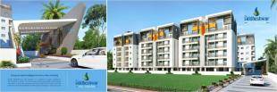 Elevation of real estate project Siddheshwar Hill Square located at Sayajipura, Vadodara, Gujarat