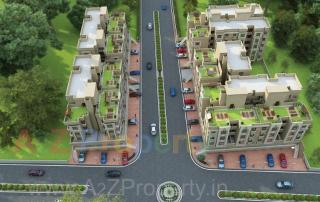 Elevation of real estate project Siddheshwer Heritage located at Bapod, Vadodara, Gujarat