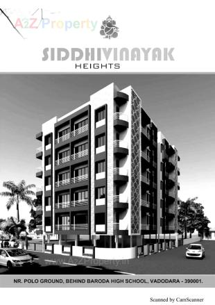 Elevation of real estate project Siddhivinayak Heights located at Vadodara, Vadodara, Gujarat