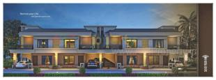 Elevation of real estate project Silver Palm located at Kapurai, Vadodara, Gujarat