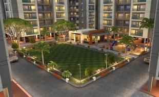 Elevation of real estate project Silver Sky located at Harni, Vadodara, Gujarat