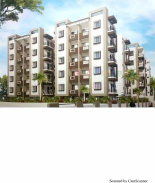 Elevation of real estate project Soham Heights located at Dasharath, Vadodara, Gujarat