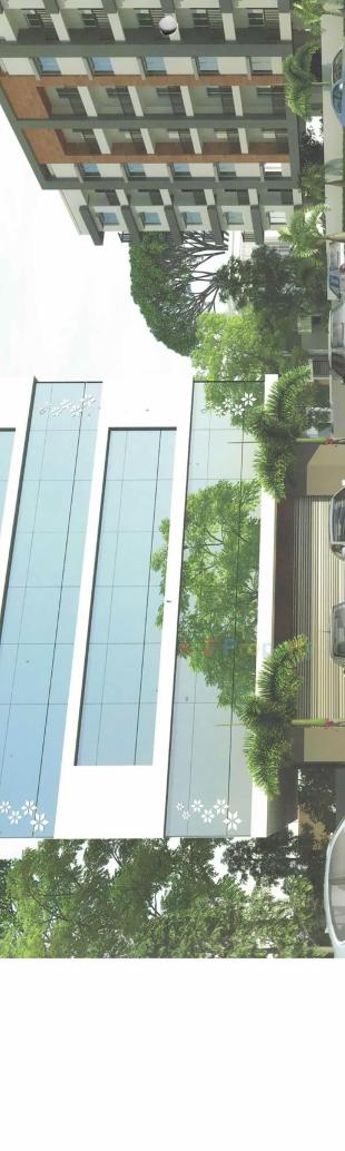 Elevation of real estate project Sotta Square located at Bapod, Vadodara, Gujarat
