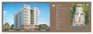 Elevation of real estate project Sparsh Residency located at Bhayli, Vadodara, Gujarat
