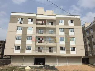 Elevation of real estate project Takshashila located at Sevasi, Vadodara, Gujarat