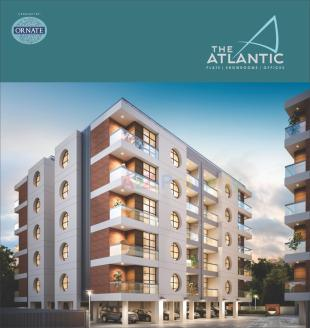 Elevation of real estate project The Atlantic (tower C & D) located at Tarsali, Vadodara, Gujarat