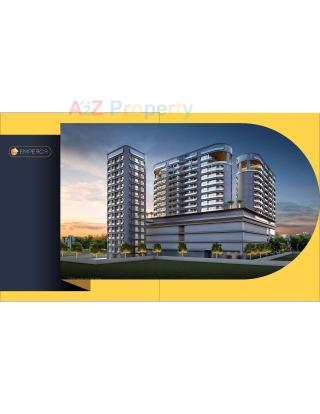 Elevation of real estate project The Emperor located at Bhayli, Vadodara, Gujarat