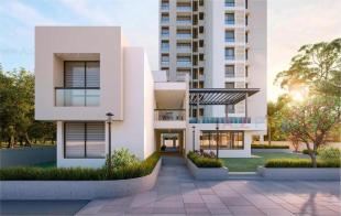 Elevation of real estate project The Shine located at Harni, Vadodara, Gujarat