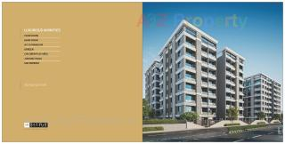 Elevation of real estate project The Status located at Harni, Vadodara, Gujarat