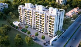 Elevation of real estate project V R Imperia located at Bapod, Vadodara, Gujarat