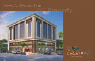 Elevation of real estate project Valam Hub located at Kapurai, Vadodara, Gujarat