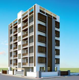 Elevation of real estate project Vandan Avenue located at Gotri, Vadodara, Gujarat