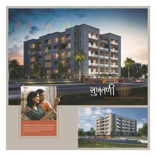 Elevation of real estate project Vrajraj Flats located at Manjalpur, Vadodara, Gujarat