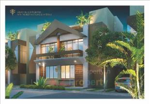 Elevation of real estate project Woodscape located at Bill, Vadodara, Gujarat