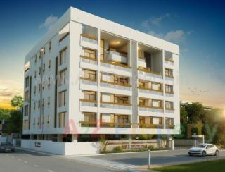 Elevation of real estate project Zb Laxuria located at Vadiwadi, Vadodara, Gujarat